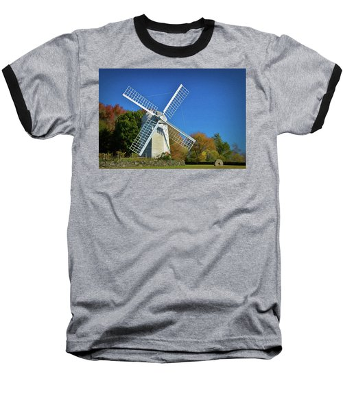 The Jamestown Windmill Baseball T-Shirt