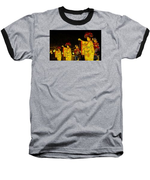 The Japanese Lantern Dancers Baseball T-Shirt