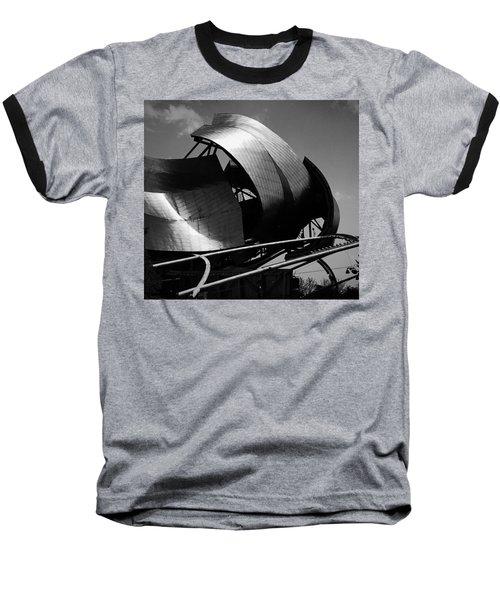 The Jay Pritzker Pavilion Baseball T-Shirt