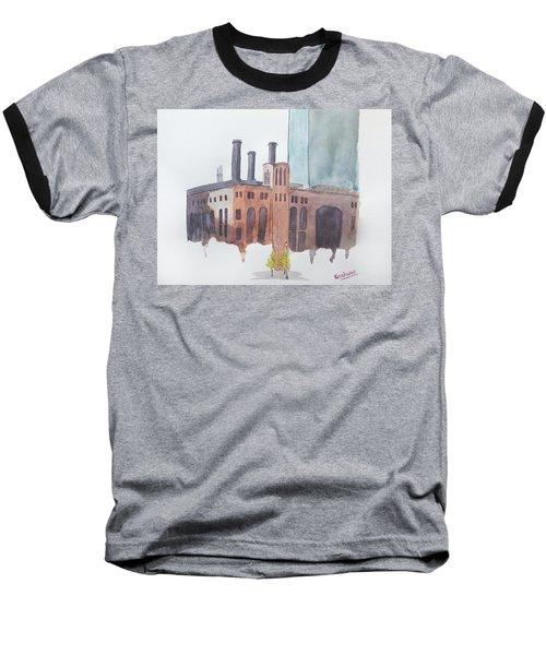 The Jersey City Powerhouse Baseball T-Shirt by Keshava Shukla