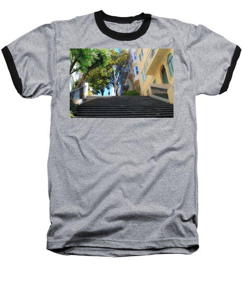 The Joice Street Steps Baseball T-Shirt