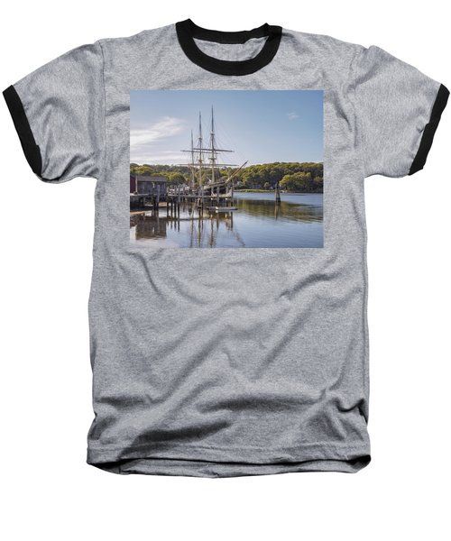 The Joseph Conrad Mystic Seaport Baseball T-Shirt