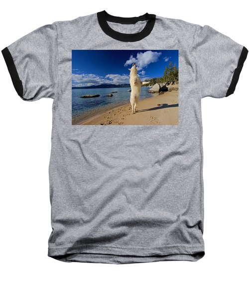 The Joy Of Being Well Loved Baseball T-Shirt by Sean Sarsfield