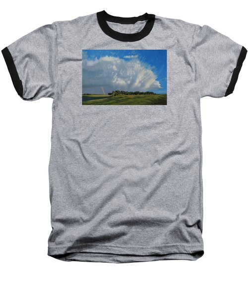 The June Rains Have Passed Baseball T-Shirt by Bruce Morrison