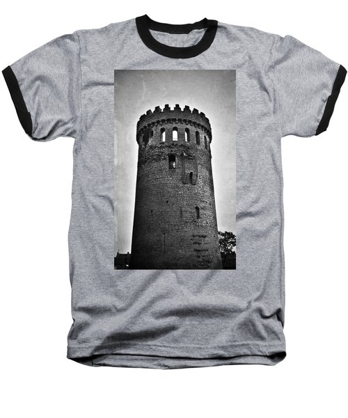 The Keep At Nenagh Castle In Nenagh Ireland Baseball T-Shirt