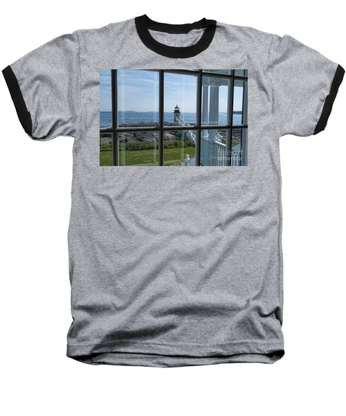 The Keeper's View Baseball T-Shirt by Patrick Fennell
