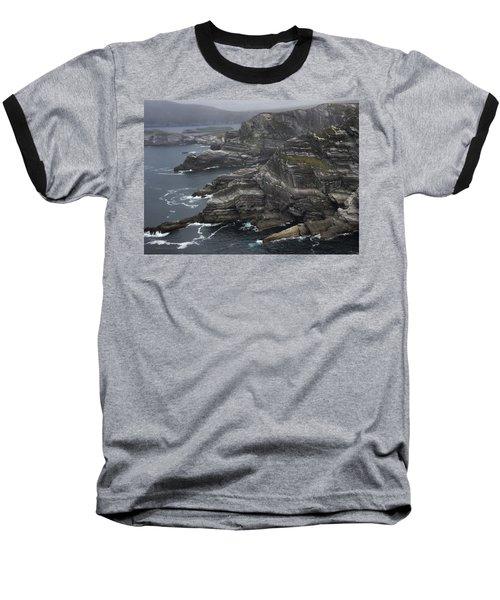The Kerry Cliffs, Ireland Baseball T-Shirt