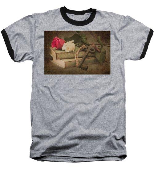 The Key To My Heart Baseball T-Shirt
