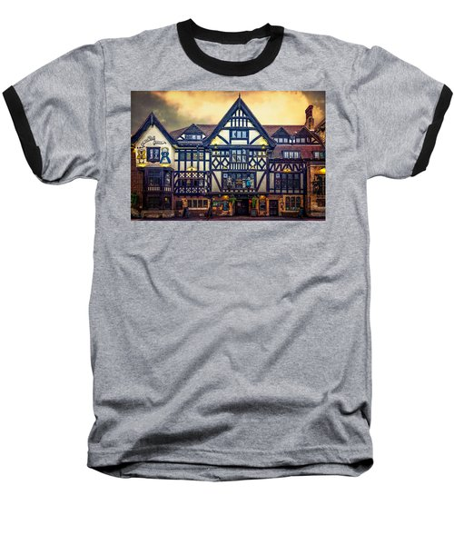 Baseball T-Shirt featuring the photograph The King And Queen by Chris Lord