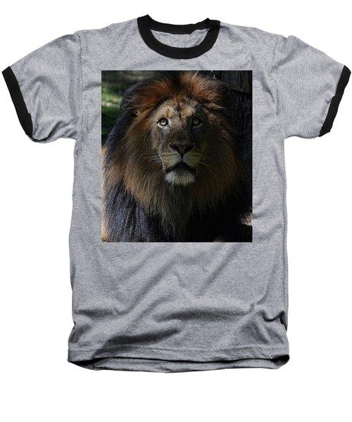 The King In Awe Baseball T-Shirt
