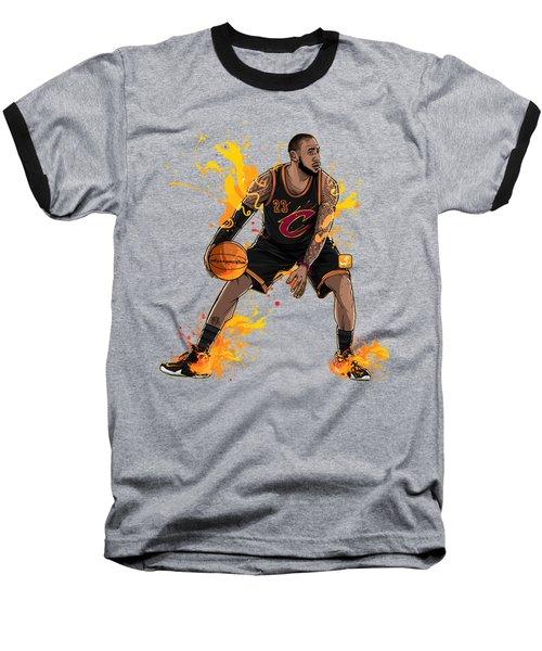 The King James Baseball T-Shirt by Akyanyme