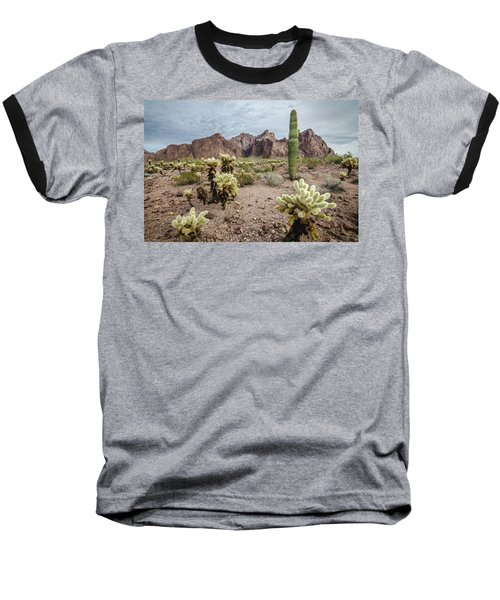 Baseball T-Shirt featuring the photograph The King Of Arizona National Wildlife Refuge by Margaret Pitcher