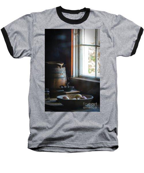 The Kitchen Window Baseball T-Shirt by Mitch Shindelbower