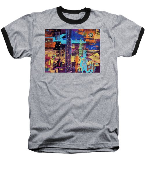 The L.a. Sky On The 4th Of July Baseball T-Shirt
