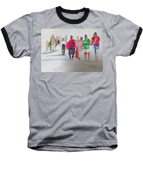 The Ladies Baseball T-Shirt by P Anthony Visco