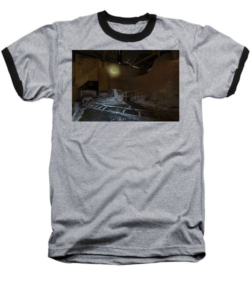 The Lamp Of The Abandoned Furnace Quarry  Baseball T-Shirt