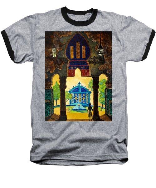 The Lamp's Garden Baseball T-Shirt