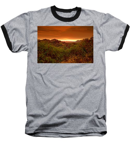 Baseball T-Shirt featuring the photograph The Land Before Time by Paul Svensen