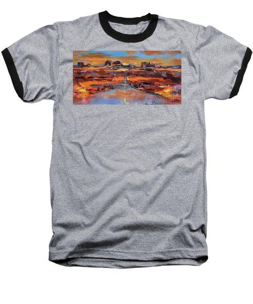 The Land Of Rock Towers Baseball T-Shirt
