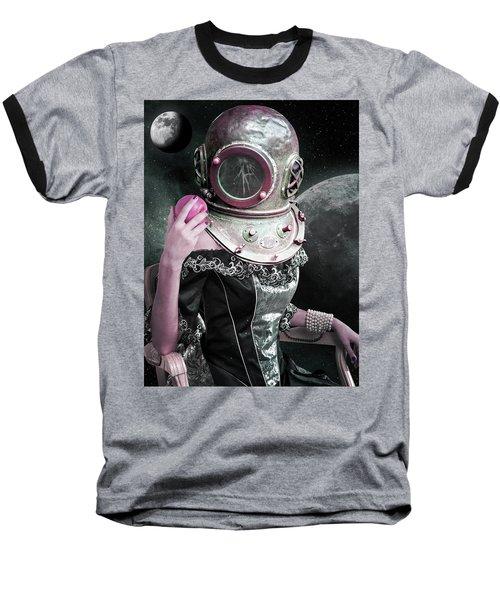 The Last Eve  Baseball T-Shirt by Mihaela Pater