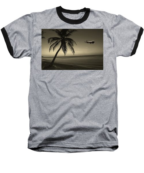 The Last Flight Out Baseball T-Shirt