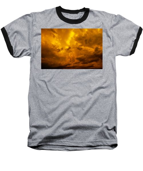 The Last Glow Of The Day 008 Baseball T-Shirt