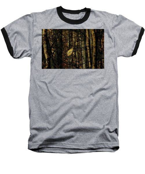 The Last Leaf Baseball T-Shirt by Bruce Patrick Smith