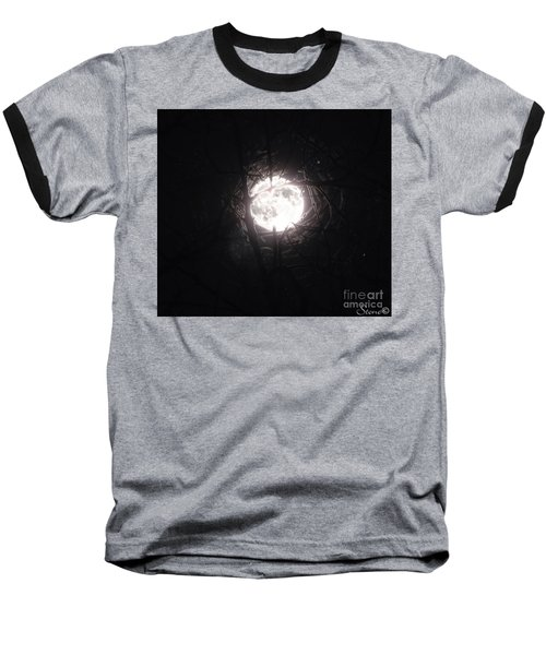 The Last Nights Moon Baseball T-Shirt