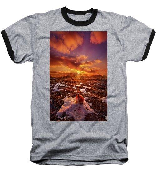 Baseball T-Shirt featuring the photograph The Last Pumpkin by Phil Koch