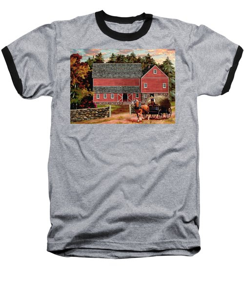 The Last Wagon Baseball T-Shirt by Ron Chambers