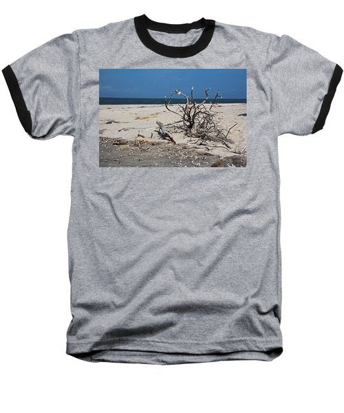Baseball T-Shirt featuring the photograph The Laws Of Gravity by Michiale Schneider