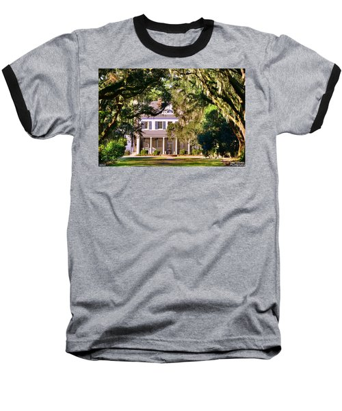 The Legare-waring House At Charles Town Landing Baseball T-Shirt