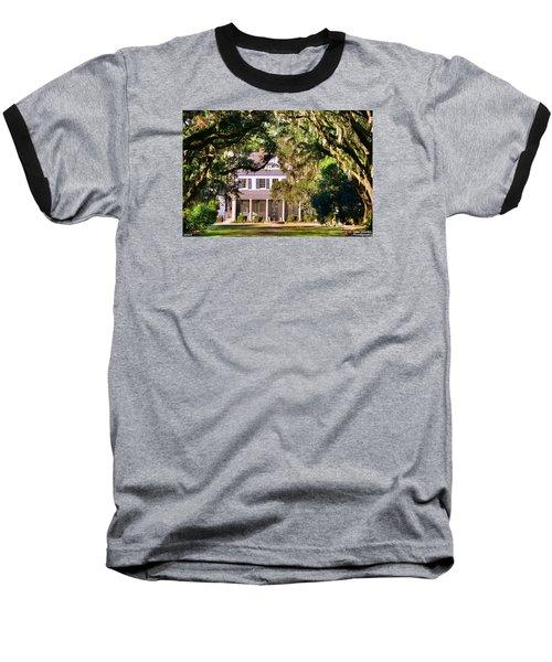 The Legare-waring House At Charles Town Landing Baseball T-Shirt