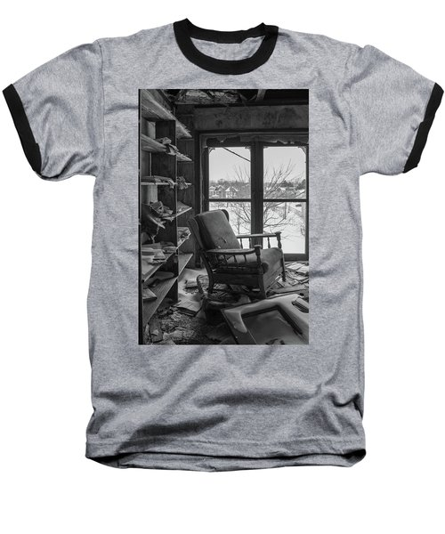 The Library Baseball T-Shirt