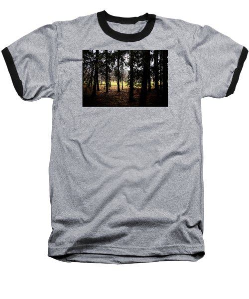 The Light After The Woods Baseball T-Shirt by Celso Bressan