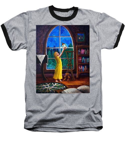 The Light And The Lampstand Baseball T-Shirt