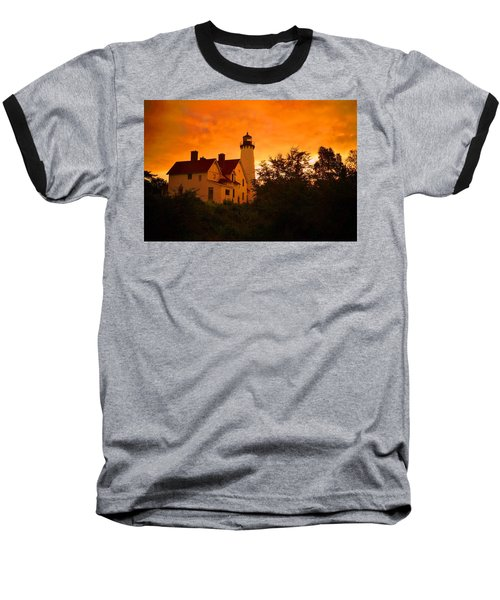 The Light At Dusk Baseball T-Shirt by Daniel Thompson