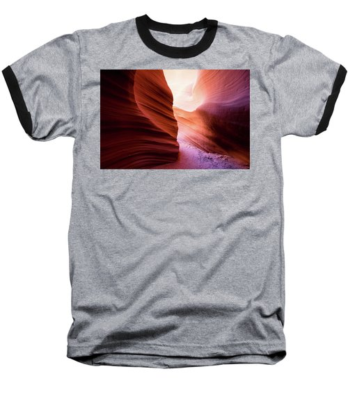 Baseball T-Shirt featuring the photograph The Light At The End by Stephen Holst