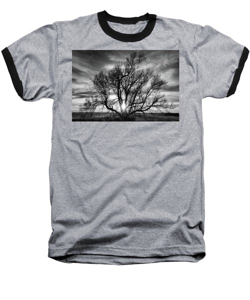 The Light Comes Through Baseball T-Shirt