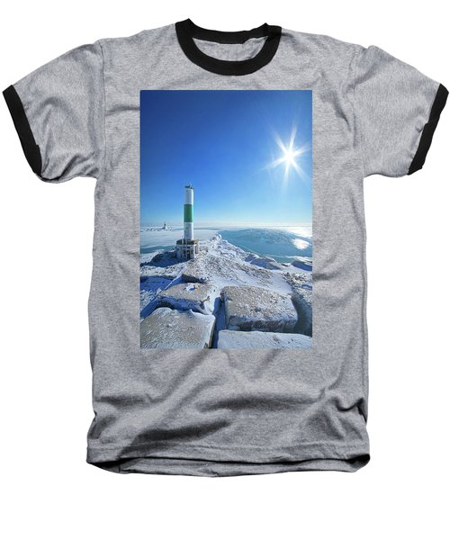 Baseball T-Shirt featuring the photograph The Light Keepers by Phil Koch