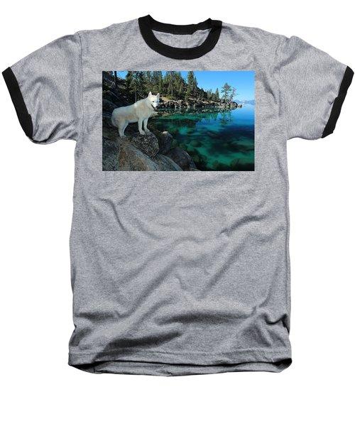 The Light Of Lake Tahoe Baseball T-Shirt