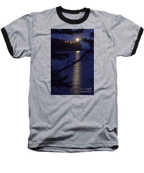 Baseball T-Shirt featuring the photograph The Light Shines Through by Larry Ricker