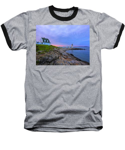The Lighthouse Keeper Baseball T-Shirt