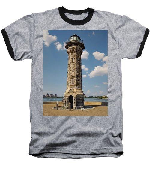 The Lighthouse Roosevelt Island Baseball T-Shirt