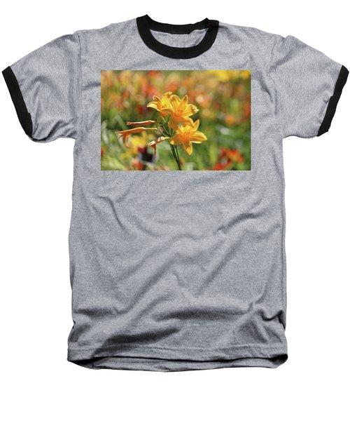 The Lilies Arrayed Baseball T-Shirt