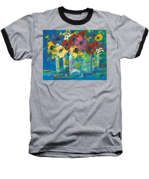 The Line-up Baseball T-Shirt by Terri Einer