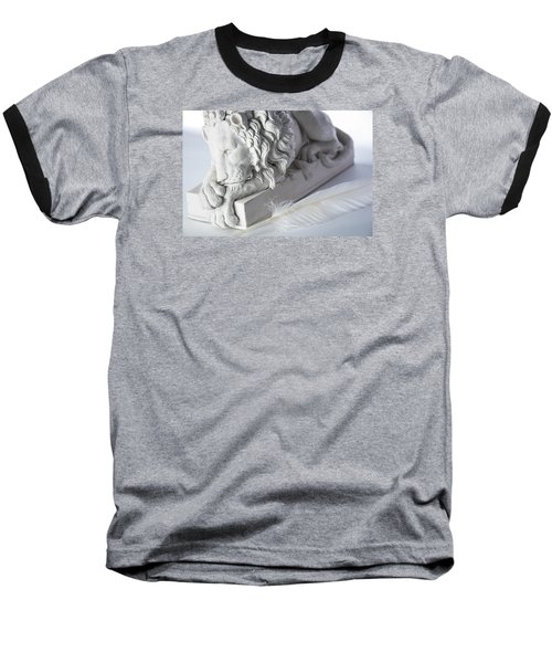 The Lion And The Feather Baseball T-Shirt