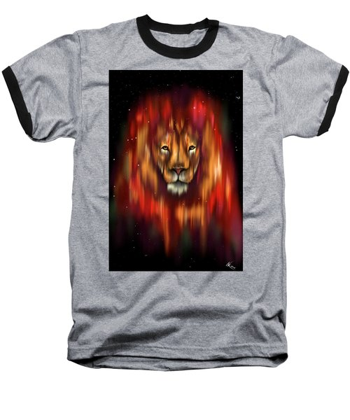 The Lion, The Bull And The Hunter Baseball T-Shirt