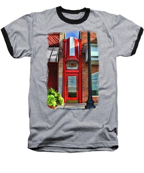 The Little Popcorn Shop In Wheaton Baseball T-Shirt