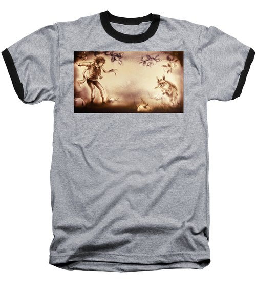 The Little Prince And The Fox Baseball T-Shirt